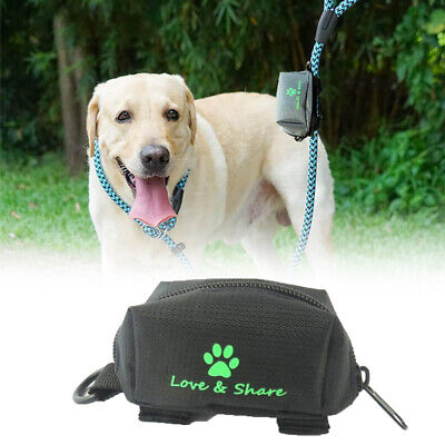 Dog Poop Waste Bag Holder Pouch Pet Puppy Cats Pick Up Poop Bag Pets Supplies-