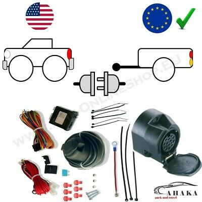 4x4 2014-2019 7p Electrics for Nissan JUKE 2WD excl Fixed Swan Neck Towbar