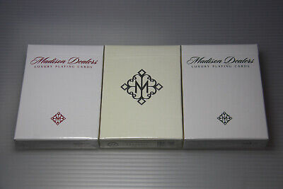 3 decks Daniel Madison Players /& Dealers Playing Cards