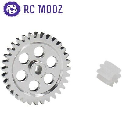 Hot Racing 0.5 Mod Spur Gear Conversion Axial SCX24 SXTF328M05