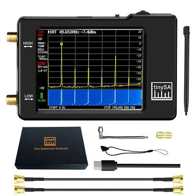 Tiny Spectrum Analyzer TinySA 2.8inch Screen 100khz to 960mhz V0.3 NEWS