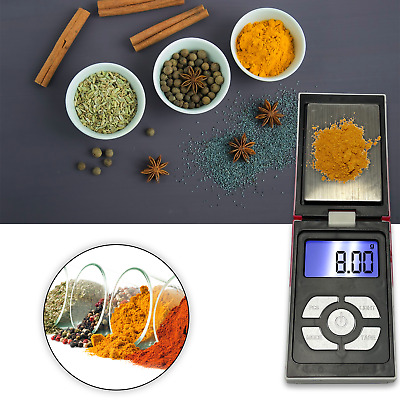 0.1G-500G Digital LCD Weighing Scales Pocket Grams Small Kitchen Jewellery Gold