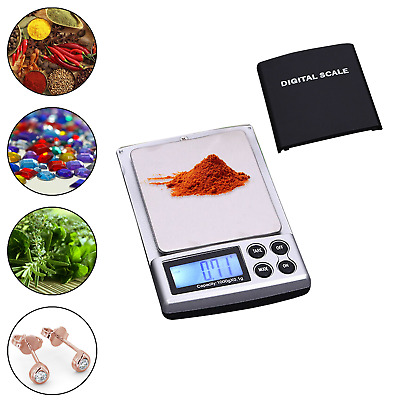 0.01G-500G Digital Weighing Scales Pocket Grams Small Kitchen Gold Jewellery UK