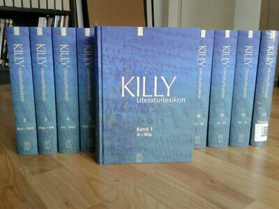 Killy Literature Lexicon - 2nd edition in 13 volumes