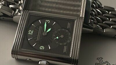 Jaeger-LeCoultre Reverso Duo Night & Day GMT Dual Time Zone 42x26mm
