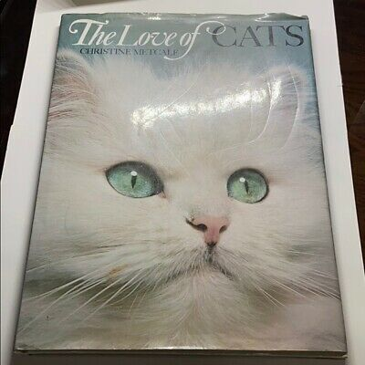 The Love Of Cats Christine Metcalf Oversized Coffee Table Book (H.C. 1973)