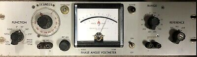 North Atlantic 202BR Wideband Phase Angle Voltmeter
