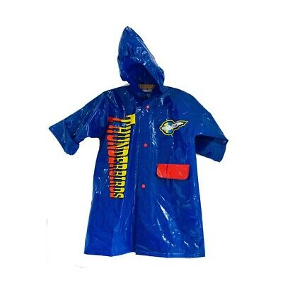 1991 Vintage Kids  Thunderbirds RainMac jacket Age 2-3yrs yrs