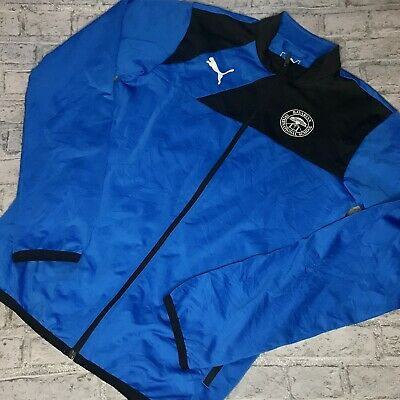 Puma bavarian International school Blue track jacket (UK 34/36) Unisex Sport