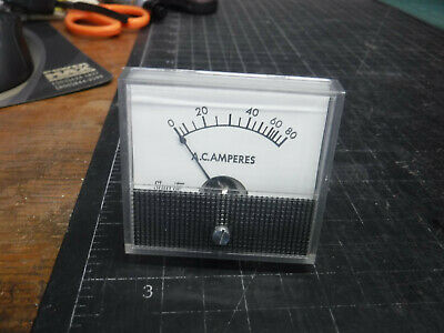 NEW Prime Instruments Model 18 DC Amperes Gauge 18 268 E5 10401  *FREE SHIPPING*