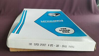 UNICOPY Super Spirit Duplicating Masters # 072 - 195 - 25410 Purple Box  8½ x 14