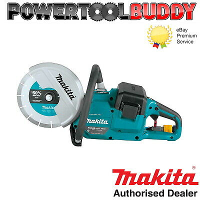 """Makita DCE090ZX1 Twin 18v / 36v 9"""" Cordless Brushless Disc Cutter Saw Body only"""