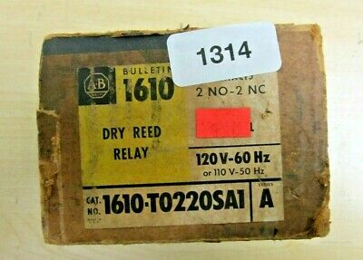 Allen Bradley  1610-T0220SA1 Series A Dry Reed Relay  NEW