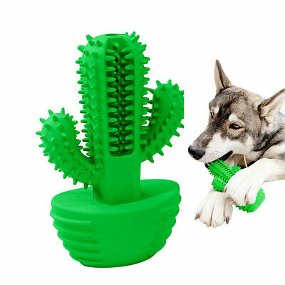 Dog Chew Toys for Aggressive Chewers Squeaky Toothbrush Teeth Cleaning Puppy