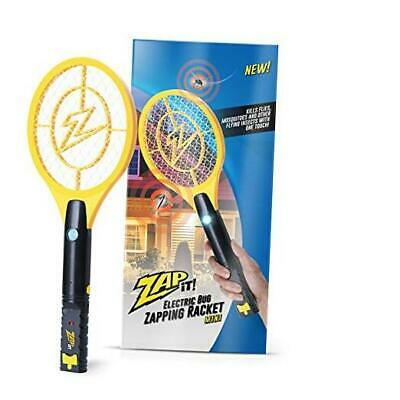 Bug Zapper Rechargeable Mosquito, Fly Killer and Bug Zapper Racket - Mini