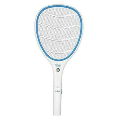 Electric Zapper Racket, Rechargeable Handheld Large Zapper with LED Large