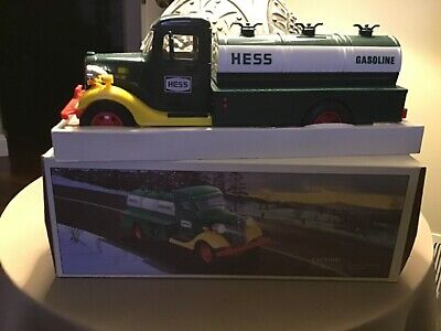 First Hess Truck Toy Bank 1985 New in box