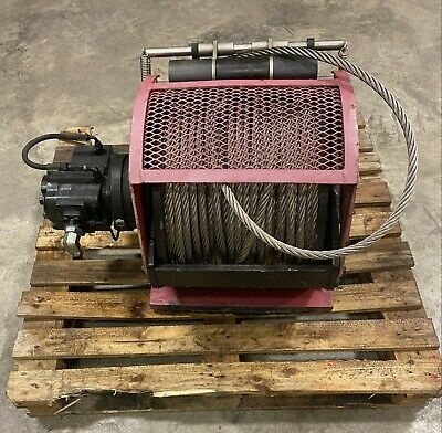 "Dinamic Oil A120-4 Hydraulic Winch, 300' x 5/8"" SS Cable (Used)"