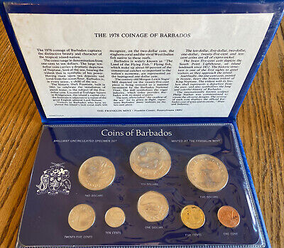 The 1978 Coinage Of Barbados