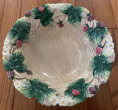 Fitz and Floyd Vintage Berry Serving Bowl