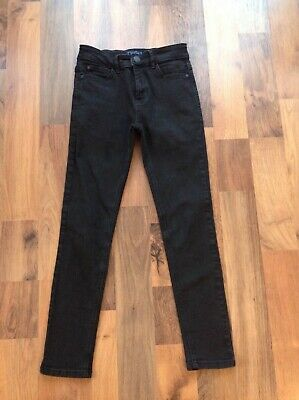 Boys black denim jeans, Next brand, skinny style, age 11 years