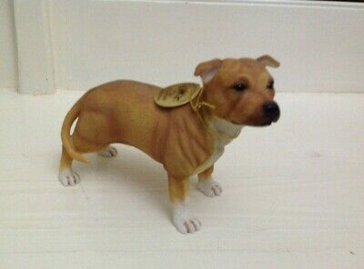 Leonardo Collection Red Staffordshire Bull Terrier