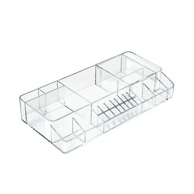 Cosmetic Small Organizer 13.25 W x 6.25 D x 2.375 H Inches for Counter