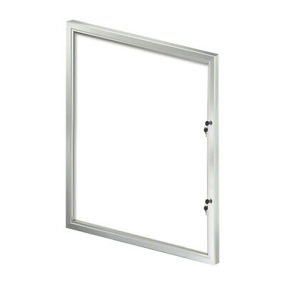 Enclosed Large Magnetic Board 32.09 W x 42.32 H Inches with Lock/Key