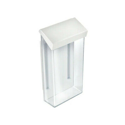 Adhesive Trifold Brochure Holder 4 W x 9 H Inches with Literature - Set of 2