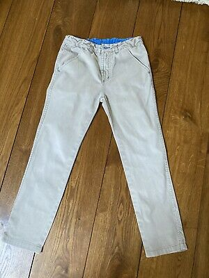 POLARN O. PYRET boys beige Trousers - Size 9-10 years