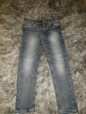 Boys NEXT Blue Denim Skinny Jeans 6yrs