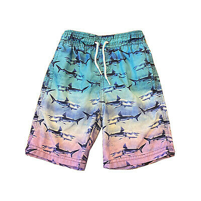 Next Boys Sharks Long Swim Shorts Trunks Summer Swimming Wear 2-3 Years