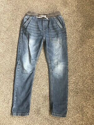 Boys Age 8 Years Pull On Jeans! Vgc From NEXT