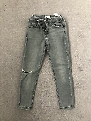 Zara Boys Grey Super Skinny Jeans Age 6
