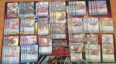 Cardfight Vanguard COMPLETE Dragonic Overlord The Destiny Deck *SEE DESCRIPTION*