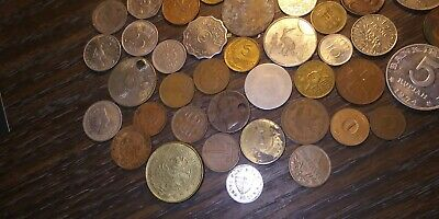 Lot Collection World Foreign Coin Coinage Currency #1