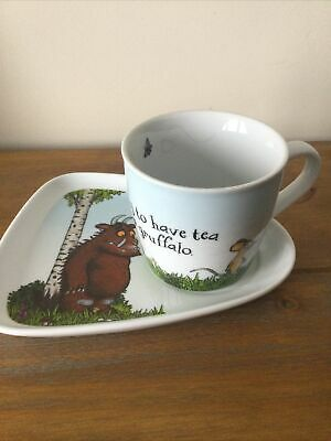 "Julia Donaldson ""The Gruffalo"" Cup And Tray Excellent Condition"