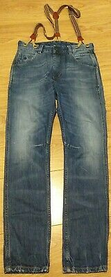 Scotch Shrunk by Scotch & Soda Brewer Jeans with Straps Braces - Age 12 152cm