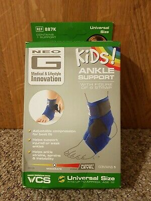 Neo G Kids Ankle Support with Figure of 8 Strap- Universal Size