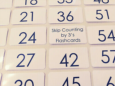 23 Odd Number Skip Counting 1-39 Black and White Flashcards.