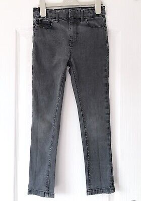 M&S Autograph Boys Skinny Jeans - Age 8-9 Years - Dark Grey Slim Fit