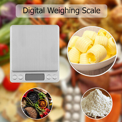 Small Pocket Digital Gold Weighing Pans Scales 0.01g-3000g for Food Jewellery