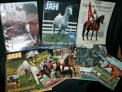 BREYER magazine huge lot Just about horses real, plastic,showing,custom,movies