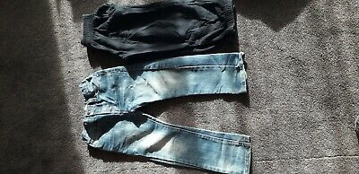 Boys jeans trousers joggers 6-7 years