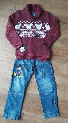 Boys Mickey Mouse Clothing Bundle 5-6 Years