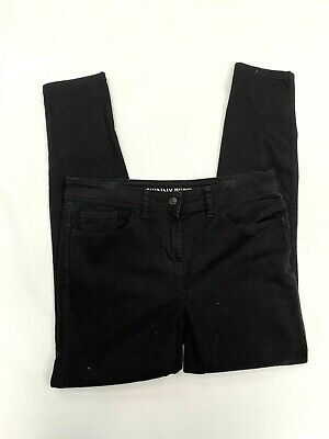 Next Skinny Fit Womens Black Jeans Age Size Uk 10