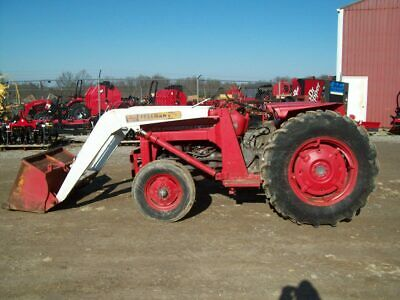 Massey Ferguson 135 Tractor with Front Loader, Good Condition, Sells No Reserve!