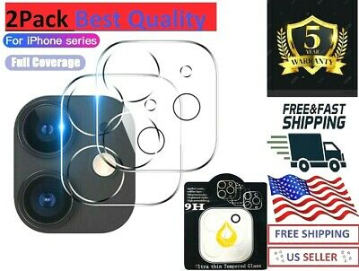 Back Camera Glass Lens cover Screen Protector For  All iPhone 12&11 Oem 2pack