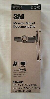 Paper Clip Document Monitor Holder Office Clipboard File Copy Stand School Board