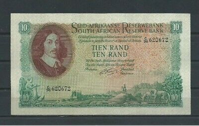 South Africa 10 Rand Reserve Bank  1961  aUNC-